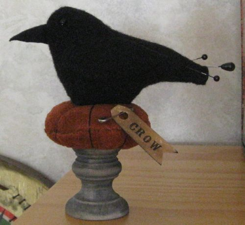 Crow Pin Keep on Pedestal