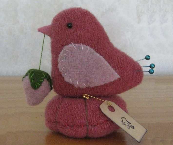 Pink Bird Make-do