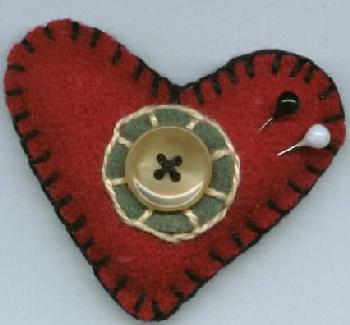 Valentine Heart Pin